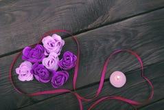 Rosor från naturlig tvål Fotografering för Bildbyråer