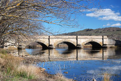 Ross Bridge. Located in the historic town of Ross, the Ross Bridge was constructed by convicts in 1836 and is the third oldest bridge still standing in Australia Royalty Free Stock Photography