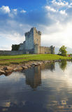 Ross Castle. Reflected in Lough Leane at Killarney, Co.Kerry, Ireland Royalty Free Stock Photography