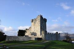 Ross Castle. Against the sky, Killarney, Ireland royalty free stock photography