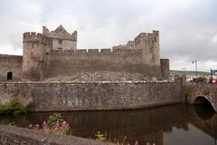 Ross castle Caislean Ross Killarney Ireland.  Royalty Free Stock Photography
