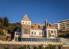 Ross Castle - Castillo Ross - Vina del Mar, Chile. Ross Castle - Castillo Ross in Vina del Mar, Chile stock image