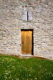 Ross castle door detail in killarney Royalty Free Stock Images
