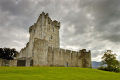 Ross castle in Killarney, Ireland. Stock Photos