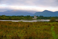 Ross castle in killarney. National park Royalty Free Stock Images