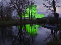 Ross Castle. In Killarney National Park, Ireland. Evening view during Patrick day Royalty Free Stock Photography