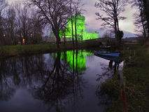 Ross Castle. In Killarney National Park, Ireland. Evening view during Patrick day Royalty Free Stock Photos