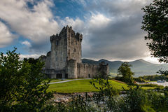 Ross Castle Killarney. View over Ross Castle in Killarney in Ireland Stock Photo