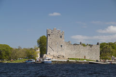 Ross Castle at Lough Leane, Killarney Royalty Free Stock Photography