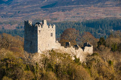 Ross castle in the Ring of Kerry Stock Photography