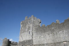 Ross castle ruins, killarney, ireland. Castle in mountains, kerry county, ireland Royalty Free Stock Photography