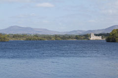 Ross Castle at scenic Lough Leane, Killarney Royalty Free Stock Photography
