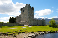 Ross Castle on a sunny morning Stock Image