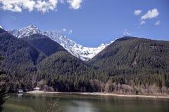 Ross Dam. In the North Cascade Mountains, Washington royalty free stock photos