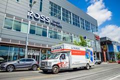 Ross Dress para menos tienda Imagen de archivo libre de regalías