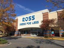 Ross Dress para menos tienda Fotografía de archivo
