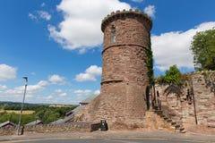 Ross-en-horqueta Herefordshire Inglaterra Reino Unido de la locura de la torre del Gazebo Foto de archivo