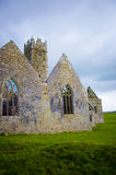 Ross Errilly Friary castle Stock Photo