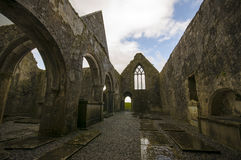 Ross Errilly Friary castle Royalty Free Stock Photography