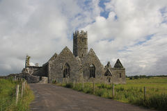 Ross Errilly Friary Stock Image