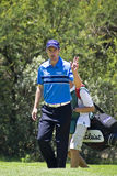 Ross Fisher & Caddy, 8th Fairway Stock Photo