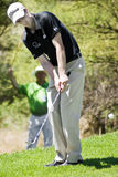 Ross Fisher  - Chipping In. Ross Fisher chipping in from the edge of the green Stock Image