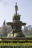 Ross Fountain, Edimburgo, Scozia, Fotografia Stock
