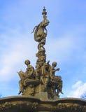 Ross Fountain, Princess garden, Edinburgh, UK. Closeup of the Ross Fountain, Princess garden, Edinburgh, UK Stock Image