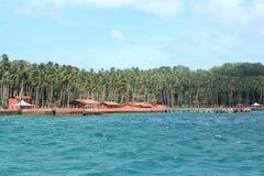 Ross Island (Andaman) - 4 imagens de stock royalty free
