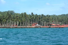 Ross Island(Andaman). Ross Island, Andamans in India royalty free stock photography