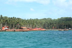 Ross Island(Andaman)-4. Ross Island, Andamans in India royalty free stock images