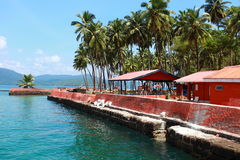 Ross Island, Andamans, Inde Photos stock