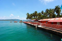 Ross Island in Andamans, India. Ross Island in Andamans - India royalty free stock images