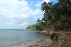 Ross Island. Ross Island, Andamans in India stock photography