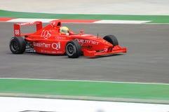 Ross Jamison Driving Formula BMW royalty-vrije stock foto