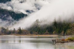 Ross Lake in Autumn royalty free stock photography