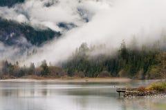 Ross Lake in autunno Fotografia Stock Libera da Diritti