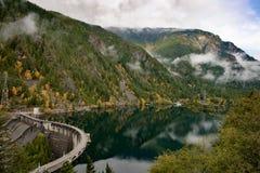 Ross Lake Dam Stock Photo