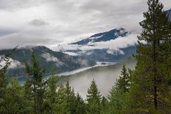 Ross Lake in de Herfst Royalty-vrije Stock Afbeelding