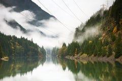 Ross Lake no outono Imagem de Stock Royalty Free