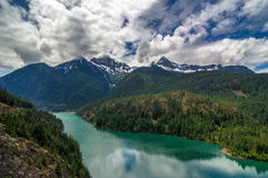 Ross Lake, Washington State Images stock