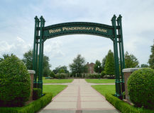 Ross Pendergraft Park, Fort Smith, AR Royalty Free Stock Image