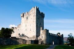 Ross slott, Co ireland kerry royaltyfri fotografi