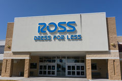 Ross Store in Jacksonville. JACKSONVILLE, FLORIDA, USA - SEPTEMBER 20, 2016: A Ross Store in Jacksonville. Ross is an American chain of off-price department Royalty Free Stock Photo