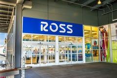Ross suknia dla Mniej sklepu Zdjęcia Royalty Free