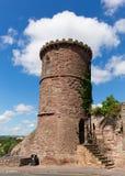 Ross-sur-montage en étoile Herefordshire Angleterre R-U de folie de tour de belvédère Photographie stock