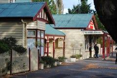 Ross, Tasmanige, Main Street Royalty-vrije Stock Afbeeldingen