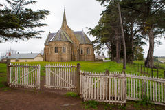 Ross Uniting Church. Ross, Australia - September 17 - The beautiful Ross Uniting Church in Ross, Tasmania, Australia on September 17th 2009 royalty free stock photography