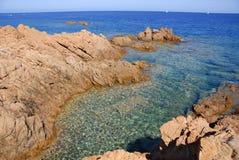 rossa Сардиния isola Стоковое фото RF