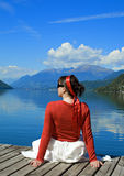 Rossa lake 3 Royalty Free Stock Photography